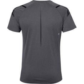 asics Icon Koszulka rowerowa z krótkim rękawem Mężczyźni, dark grey heather